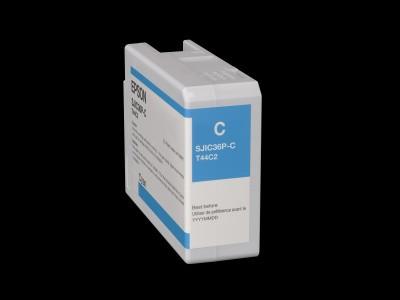 Epson Tintenpatrone für C6500/C6000, Cyan