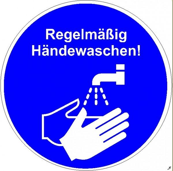 Händewaschen rund