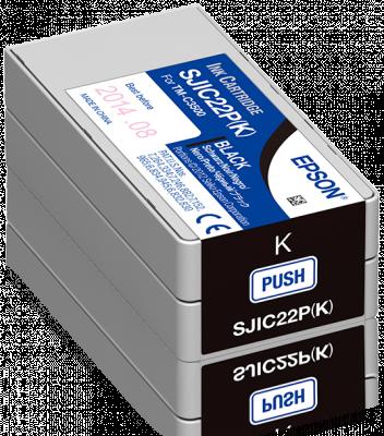 Epson Tintenpatrone für TM-C3500, Schwarz